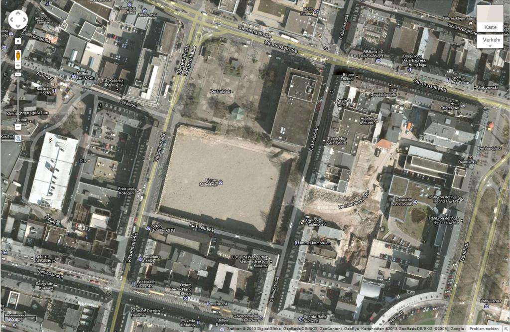 Google Maps Forum Mittelrhein