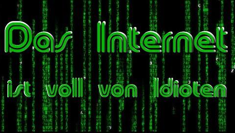 Robin von Youtube – Das Internet (ist voll von Idioten)