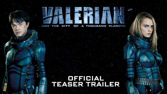 Luc Besson – Valerian and the City of a Thousand Planets