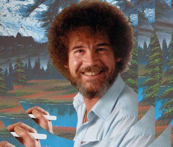 Ja sag mal, wo sind eigentlich die ganzen Bob Ross Bilder?